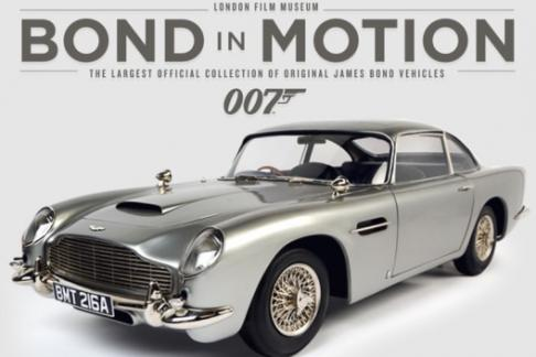 Bond in Motion exhibition tickets London film museum
