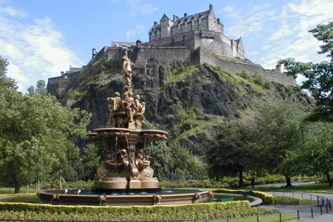 Edinburgh Castle park daytime