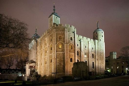 Tower of London side view