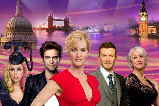 Famous Waxworks at Madame Tussauds London