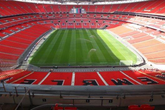 Wembley Stadium home of England