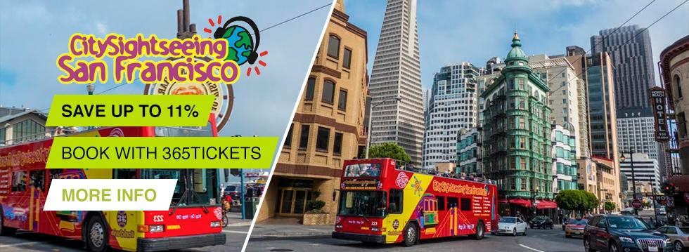 City Sightseeing San Francisco Tickets