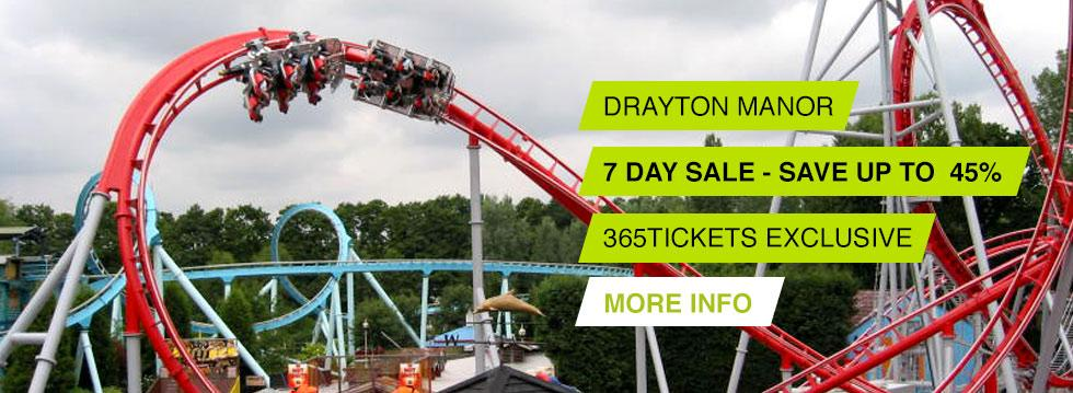 Drayton Manor - 7 Day Sale