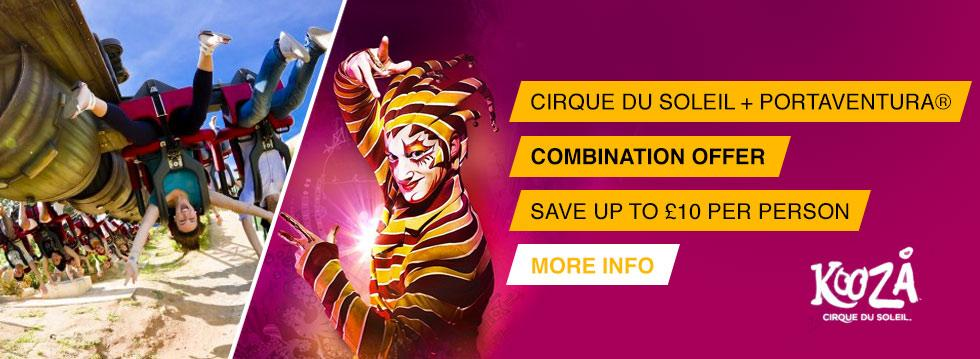 Cirque du Soleil + PortAventura® 1 Day Ticket