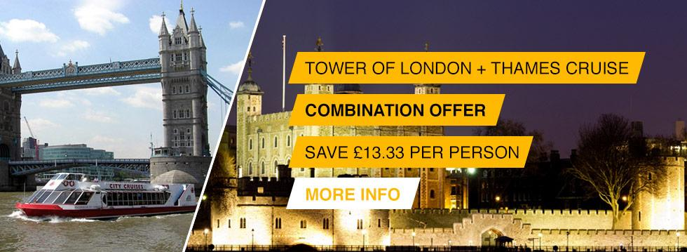 Tower of London + River Cruise