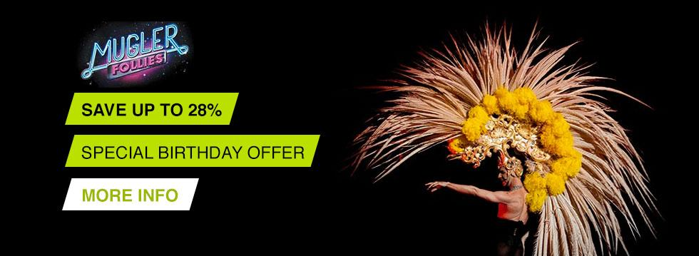 Mugler Follies Birthday Offer Save up to 28%