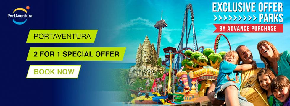 PortAventura® - 2 For 1 Special Offer