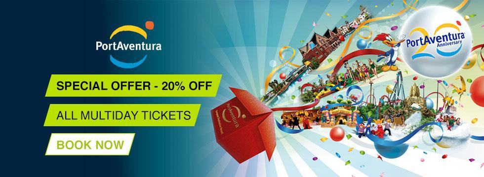PortAventura® - 2 For 1 Special Offer