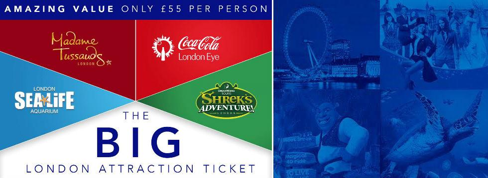 The Big London Attraction Ticket