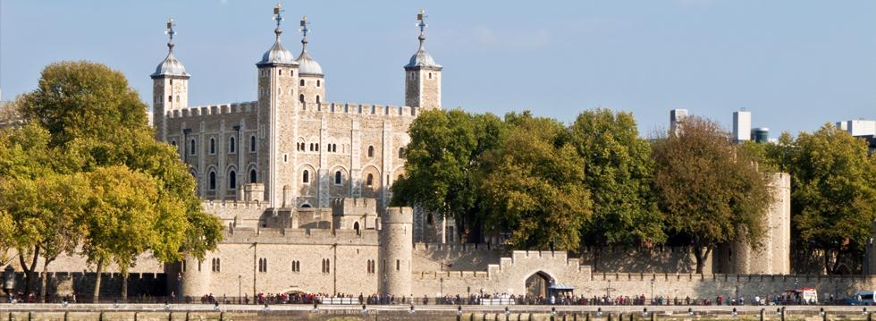 Tower of London im Frühling