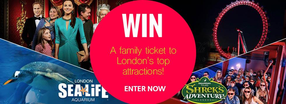 The Big London Attraction Ticket Competition
