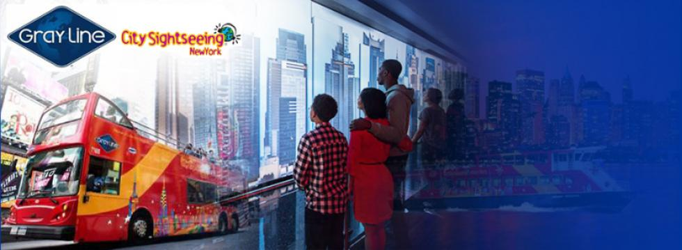 Gray Line City Sightseeing One World Observatory Hop On Off Bus Tours