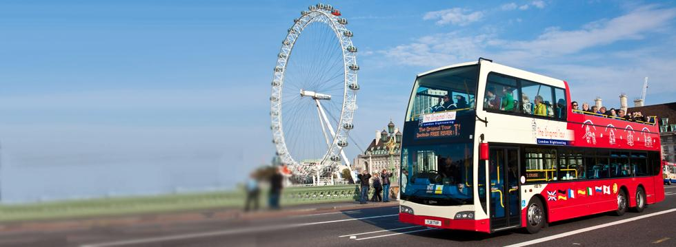 Original London Sightseeing Tour - 65th Birthday Offer