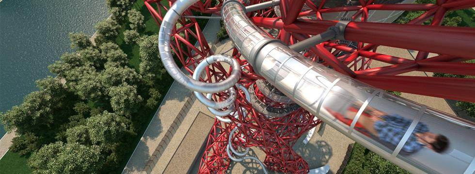 The Slide at ArcelorMittal Orbit!