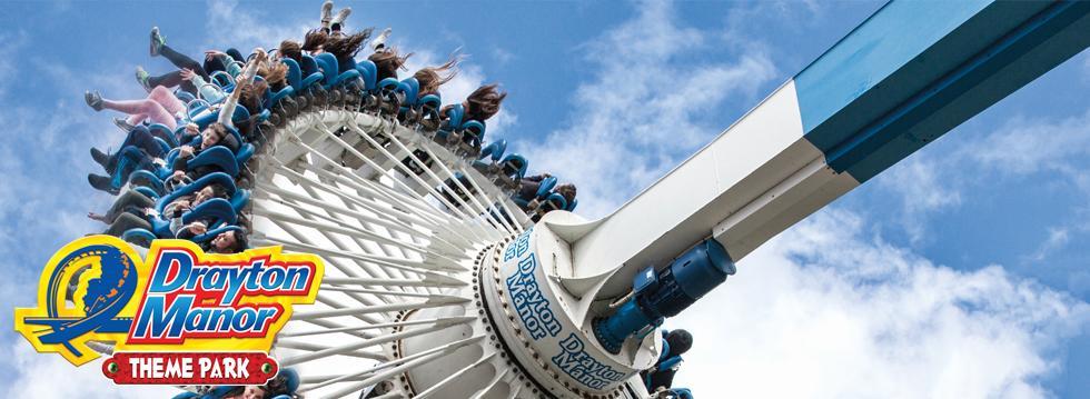 52% Off Drayton Manor Theme Park Tickets