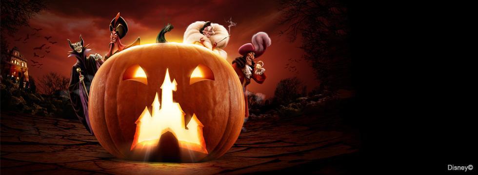 Halloween Angebot - 2 Parks zum Preis von einem - Disneyland Paris und Walt Disney Studios