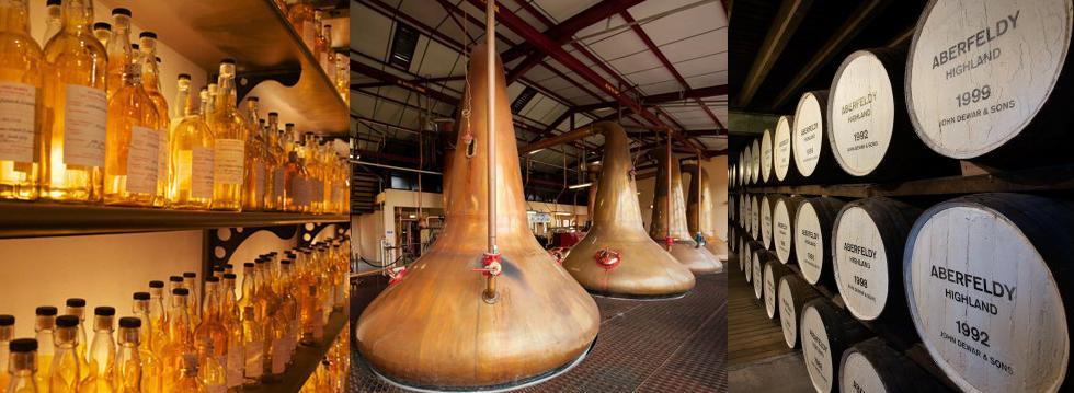 Dewar's Aberfeldy Distillery Tours