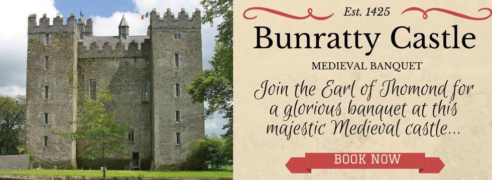 Bunratty Castle Banquet