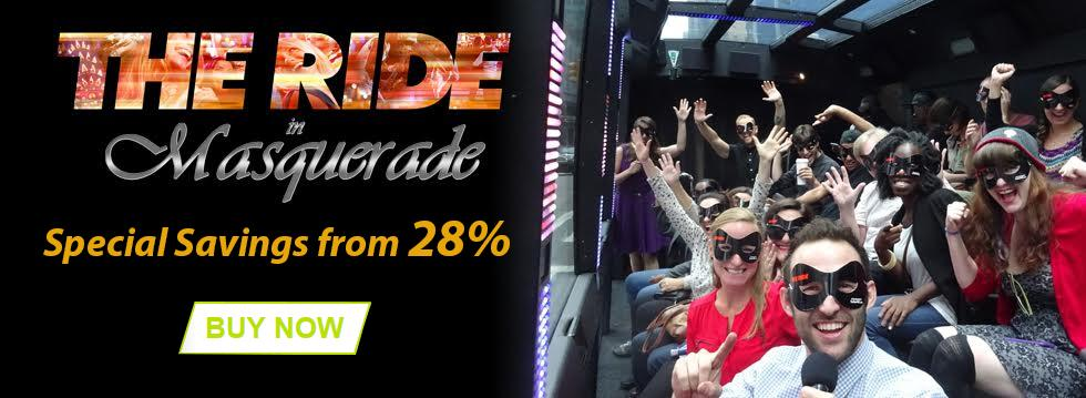 The Ride in Masquerade Savings