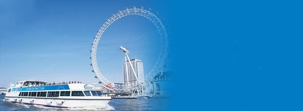 London Eye + FREE RIVER CRUISE