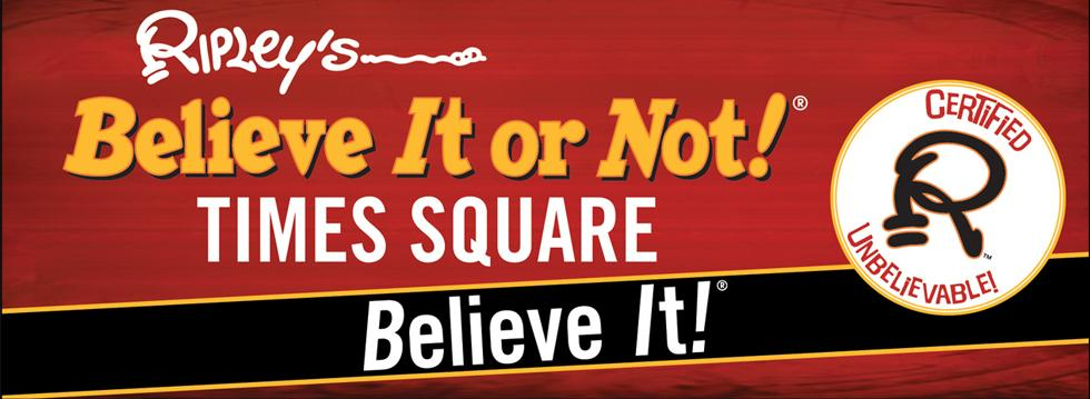 Ripley's Believe It or Not Times square discount tickets
