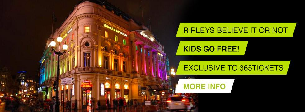 Ripleys London Tickets
