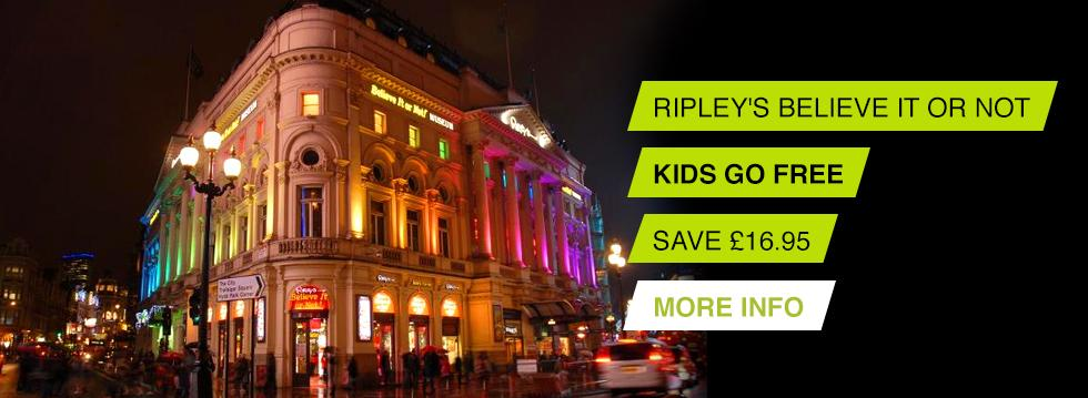 Ripley's London Tickets